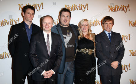 London Gala Premiere of 'Nativity!' at the Barbican Jason Watkins Marc Wootton Debbie Isitt and Martin Freeman
