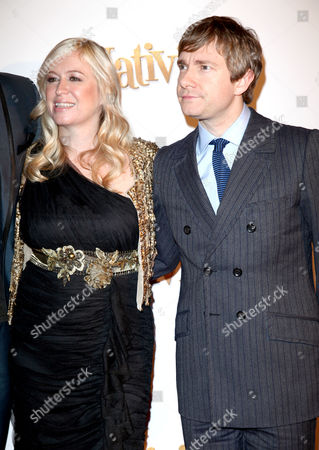 London Gala Premiere of 'Nativity!' at the Barbican Debbie Isitt and Martin Freeman
