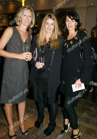 Luxury Briefing 2009 Awards and the Presention of the First Luxury Briefing Medal For Bravery in the Face of Adversity at the Connaught Carlos Place Julia Ogilvy This Years Winner Anya Hindmarch and Anastasia Webster