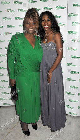 Macmillancelebrity Christmas Stocking Auction at the Waldorf Hilton Hotel Aldwych Sinitta with Her Mother Miquel Brown