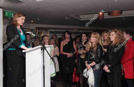 Marie Claire Inspire and Mentor Event in Association with the Prince's Trust at the Loft the Ivy Club Sarah Brown Makes Her Speech with Trish Halpin (editor of Marie Claire) Anastasia Webster Yasmin Mills and Kelly Hoppen in the Background