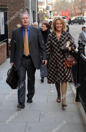 Mayoral Debate at Cadogan Hall Chelsea London Roy Greenslade & Noreen Taylor