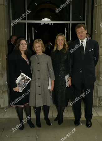 Louisa & Lady Camilla Dempster with Lord Jonathan and Lady Claudia Rothermere