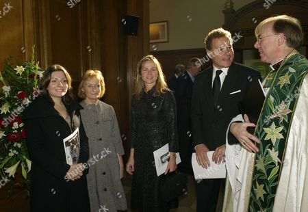 Louisa & Lady Camilla Dempster with Lord Jonathan & Lady Claudia Rothermere
