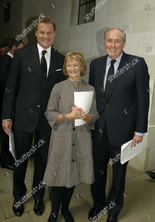 Lord Jonathan Rothermere Lady Camilla Dempster & Paul Dacre