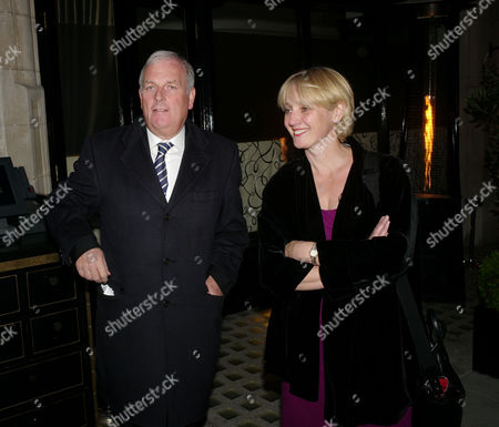 Michael Spencer Election Night Party at Scotts Mayfair London Kelvin Mckenzie Wiith His Wife