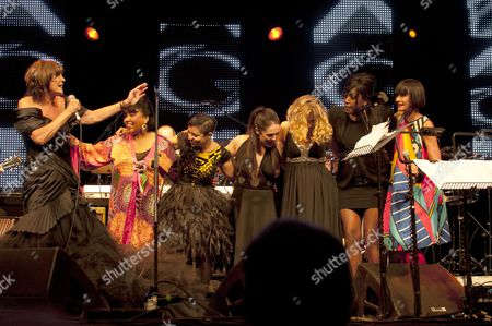 Editorial image of Music Vintage at Goodwood Festival - 13 Aug 2010