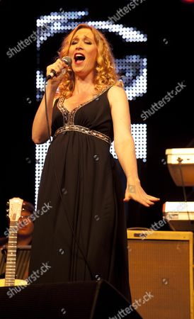 Stock Photo of Music at Vintage at Goodwood Festival First Day at Goodwood House Chichester West Sussex Natasha Marsh