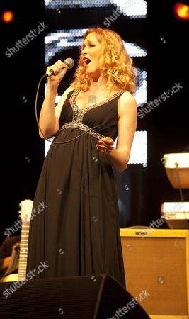 Music at Vintage at Goodwood Festival First Day at Goodwood House Chichester West Sussex Natasha Marsh