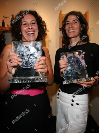 Neal's Yard Remedies First Annual Natural Beauty Honours at the King's Street Store Chelsea Sam Roddick Who Collected the Award in Honour of Her Mother Anita Roddick and Bella Freud For Her Work in Campaigning and Journalism