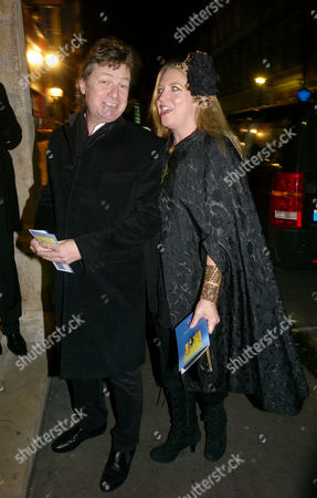 Nowhere Boy Afterparty at St Barnabas House Greek Street London Danny Moynihan and His Wife Katrina Boorman
