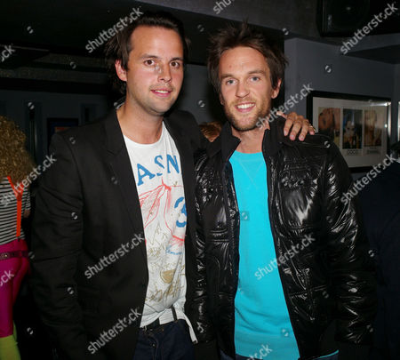 Opening Night at Maggie's Nightclub Fulham Road Charlie Gilkes and Duncan Stirling