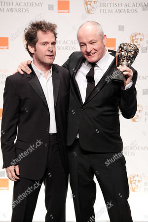Orange 2010 British Academy Film Awards Press Room at the Royal Opera House Covent Garden Barry Ackroyd Winner of Best Cinematography For 'The Hurt Locker' Presented by Tom Hollander