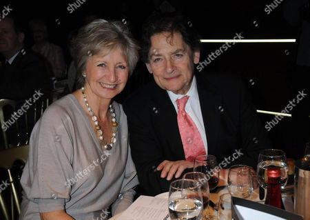 Parliamentary Palace of Varieties at the Intercontinental Park Lane in Aid of Macmillan Cancer Support Sue Lawley and Lord Nigel Lawson