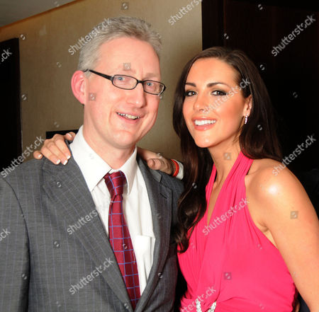 Parliamentary Palace of Varieties at the Intercontinental Park Lane in Aid of Macmillan Cancer Support Lembit Opik and Katie Green