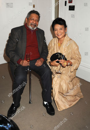 Book Party For 'Masters and Commanders' at Sotheby's Bond Street V S Naipaul & Jung Chang