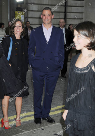 Premiere of 'Creation' at the Curzon Cinema Mayfair Dominic West with His Partner Polly Astor Watch Their Daughter Martha West On the Red Carpet