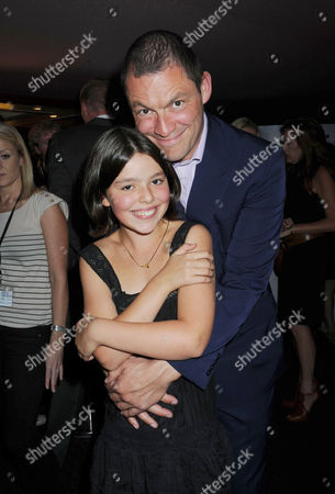 Premiere of 'Creation' at the Curzon Cinema Mayfair Martha West with Her Father Dominic West