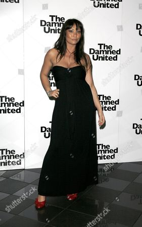 Premiere of 'The Damned United' at the Vue Leicester Square Lucinda Rhodes Flaherty