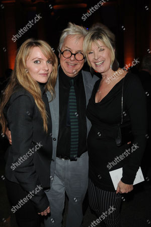 Presentation of the 2009 Turner Prize at Tate Britain Millbank Julia Somerville and Sir Jeremy Dixon with Her Daughter