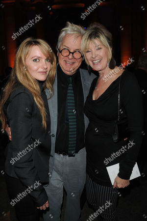 Presention of the 2009 Turner Prize at Tate Britain Millbank London Julia Somerville and Sir Jeremy Dixon with Her Daughter