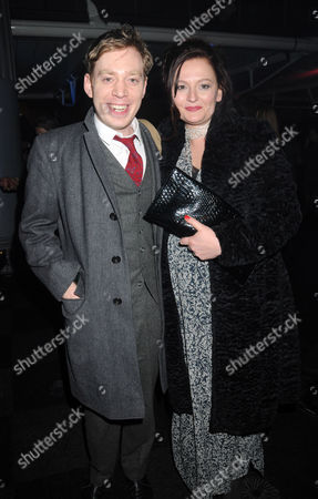 Press Night Afterparty For 'Love Never Dies' at the Old Billingsgate Market Nicholas Lloyd Webber with His Wife Charlotte Windmill