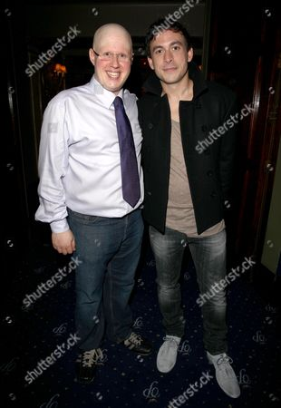 Press Night Afterparty For 'Prick Up Your Ears' at Cafe De Paris Matt Lucas and Chris New