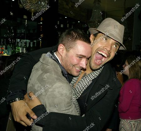 Press Night Afterparty For 'Rent' at Jewel Maidens Lane William Baker and Leon Lopez (r)