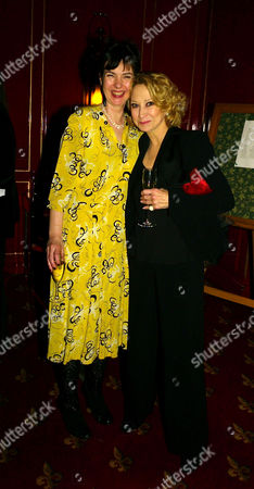Press Night Afterparty For 'The Vortex' at Les Ambassadeurs Hamilton Place Phoebe Nicholls and Felicity Kendal