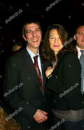 Press Night Afterparty For 'The Vortex' at Les Ambassadeurs Hamilton Place Jennifer Hall with Her Husband Glen Wilhide
