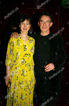 Press Night Afterparty For 'The Vortex' at Les Ambassadeurs Hamilton Place Phoebe Nicholls with Her Husband Charles Sturridge