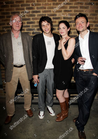 Press Night Afterparty For 'Through A Glass Darkly' at the Almeida Islington Cast: Ian Mcelhinney Dimitri Leonidas Ruth Wilson and Justin Salinger