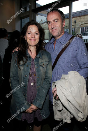 Stock Photo of Press Night Afterparty For 'Through A Glass Darkly' at the Almeida Islington Lise Mayer and Angus Deayton