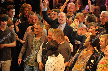 Editorial photo of Press Night Curtain Call For 'Hair' at the Gielgud Theatre - 14 Apr 2010