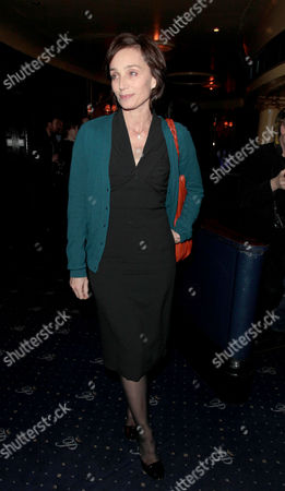Press Night For 'Jerusalem' at the Apollo Theatre and Afterparty at Cafe De Paris Kristin Scott-thomas