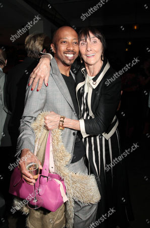 Stock Picture of Press Night For 'Sweet Charity' at the Theatre Royal Haymarket and Party at the National Portrait Gallery Cafe Paul J Medford and June Brown