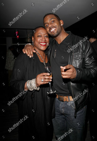 Press Night For 'Cat On A Hot Tin Roof' at the Novello Theatre and Afterparty at the Paramount Club Centre Point Paulette Randall and Richard Blackwood