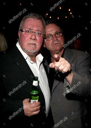 Press Night Party For 'A Christmas Carol' at the Arts Theatre Great Newport Street Gareth Hale and Norman Pace