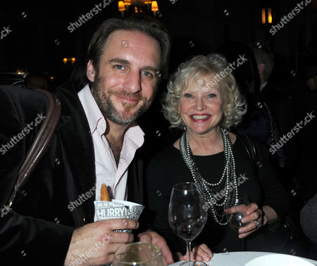 Press Night Party For What the Butler Saw at the Waldof Hotel Aldwych London Sandra Dickinson & Her Husband Mark Osmond
