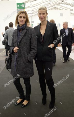Private View of Frieze Art Fair in Regents Park London Princess Rosario of Bulgaria & Gwyneth Paltrow