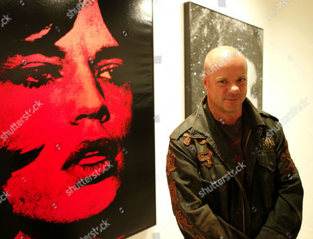 Private View For 'Russell Young: Dirty Pretty Things' at Scream Gallery Burton Street Mayfair Russell Young