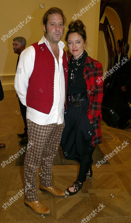 Private View at the Royal Academy of Arts Piccadilly London Alice Temperley with Her Husband Lars Von Bennigsen