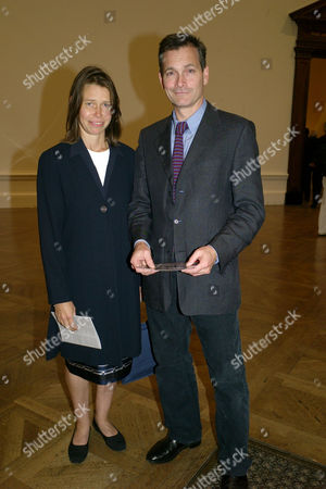 Private View at the Royal Academy of Arts Piccadilly London Daniel Chatto with His Wife Lady Sarah Chatto