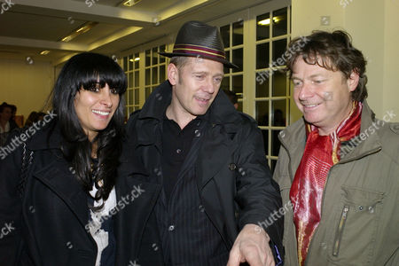Private View of the Rebecca Warren Exhibition at the Serpentine Gallery Serena Rees Paul Simonon & Danny Moynihan