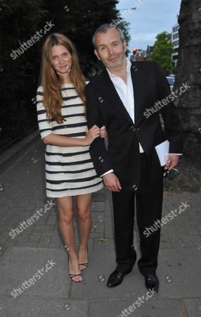 Range Rover 40th Anniversary Party Hosted by Vogue at the Orangery Kensington Palace Bayswater London Piers and Sophie Adams