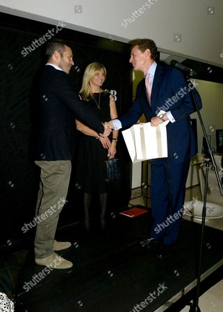 Relaunch of 'Luxury Briefing' and Presention of the 2007 Awards For Excellence at the B&b Italia Brompton Road Award Winners Tyler Brule and Mary Homer with James Ogilvy