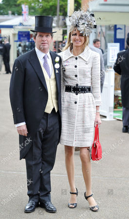Royal Ascot - Saturday Day 5 Guy Sangster with His Wife Fiona