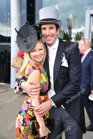 Royal Ascot 2012 - Day 2 Hannah Sandling with Her Boyfriend Bruno De Varela