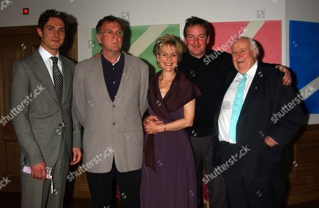 Screening of 'A Good Wife' at the Soho Hotel in Aid of the Make A Wish Foundation Mark Umbers Tom Wilkinson Diana Hardcastle the Director Mike Barker and Roger Hammond