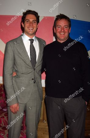 Screening of 'A Good Wife' at the Soho Hotel in Aid of the Make A Wish Foundation Mark Umbers with the Director Mike Barker